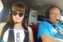 W drodze na I Podkarpacki Zlot Samolotów Ultralekkich
