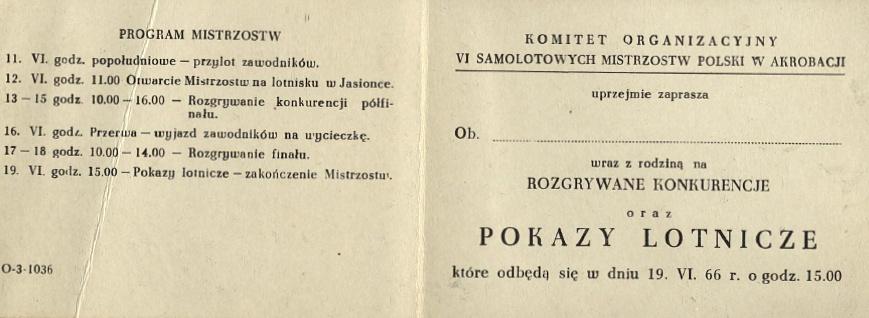 Fot. arch. Aeroklubu Rzeszowksiego