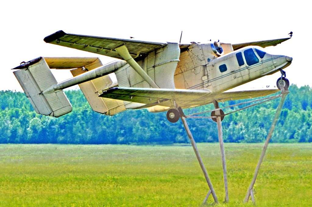 samolot pomnik