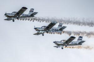 pokazy lotnicze Krosno Celfast Flying Team