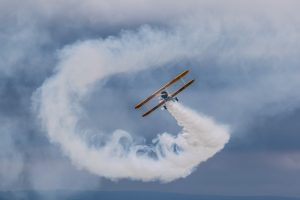 pokazy lotnicze Krosno Boeing Stearman