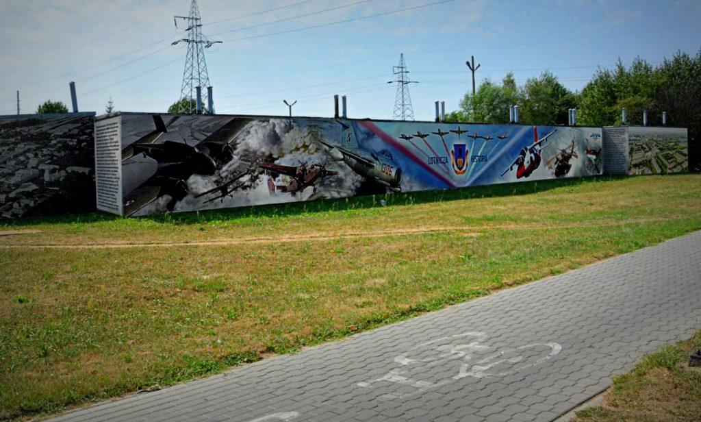 mural lotniczy
