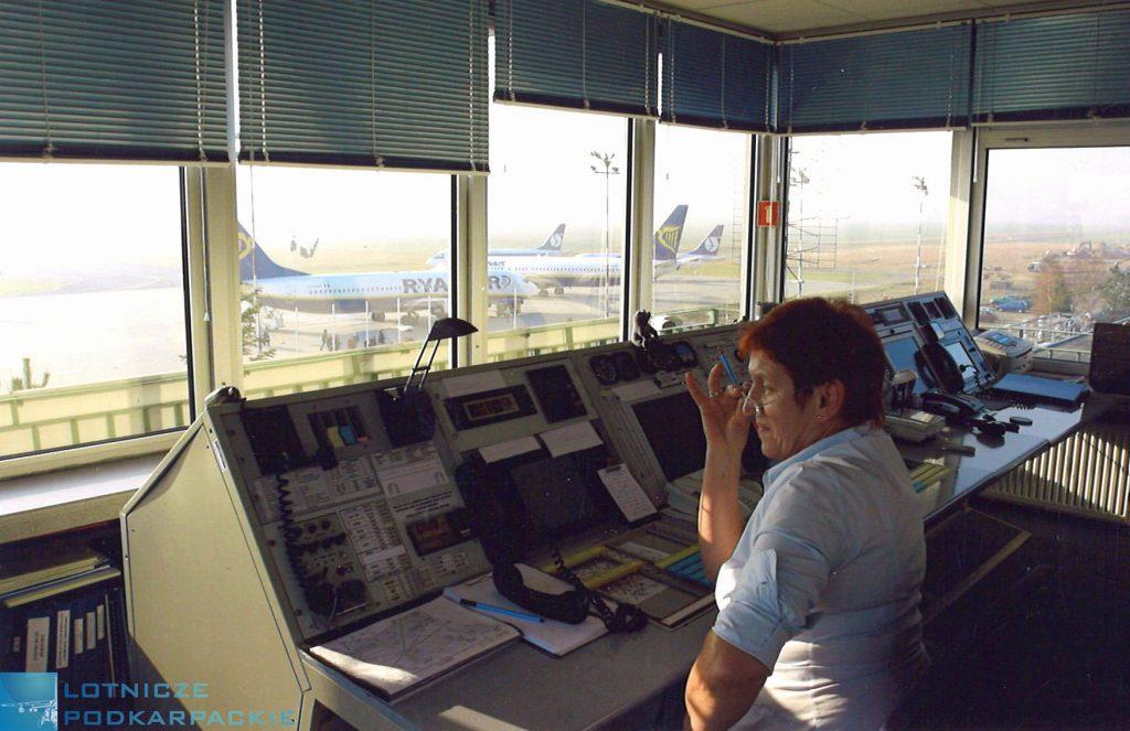 kontroler ruchu lotniczego Jasionka