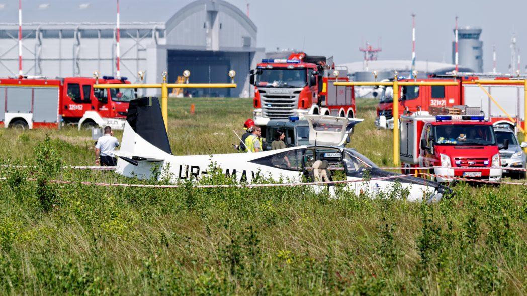 Jasionka lotnictwo samolot wypadek