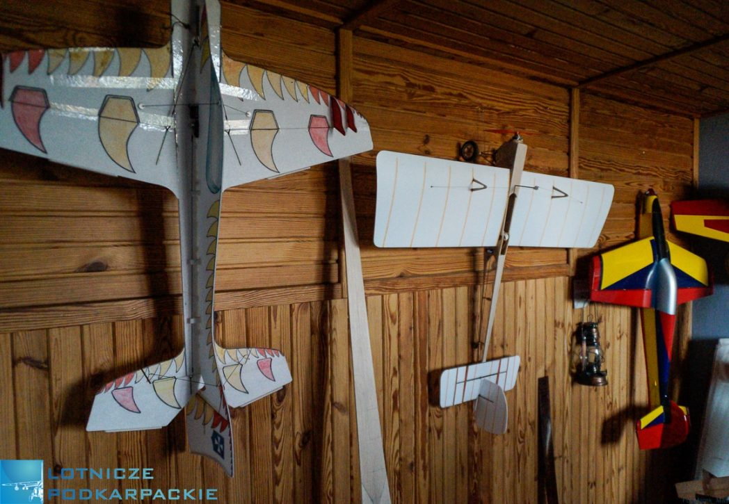 ściana samoloty modele skrzydła