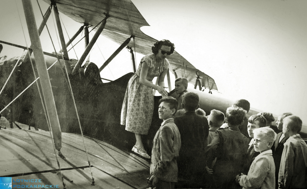 pani loty widokowe aeroklub historia